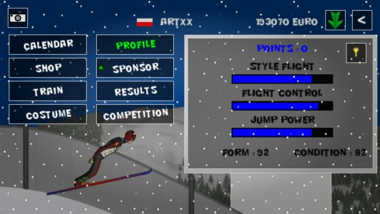 Ski Jump X Free
