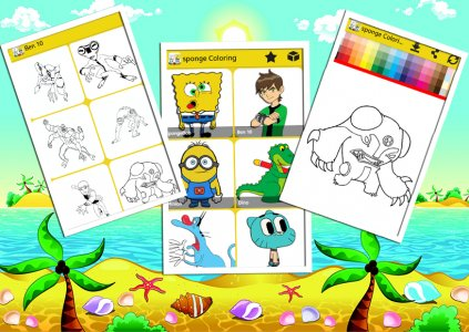 sponge Coloring