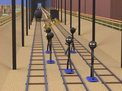 Stickman Subway Surfers 3D