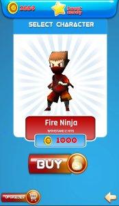Subway Ninja Run:Surfer in the road
