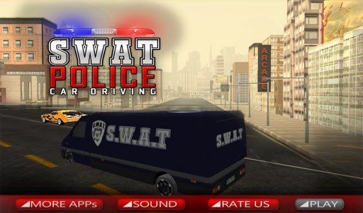 SWAT Police Car Driving 3D