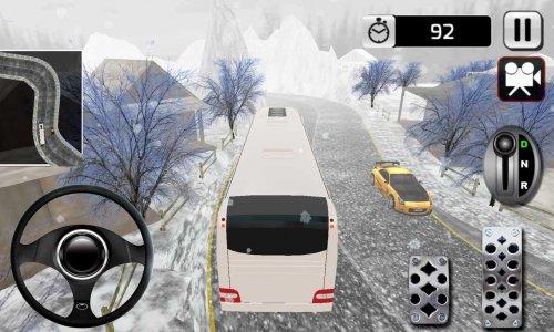 Winter Tour Bus Simulator