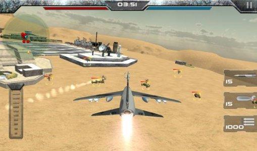 WW2 airborne fighter plane