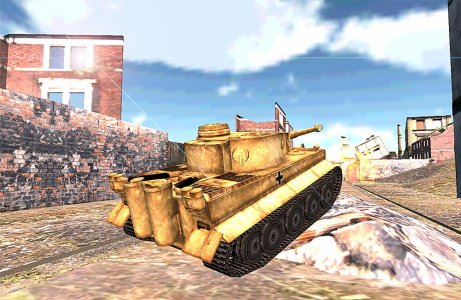 WWII Tank Racer