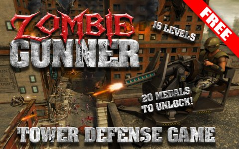 FREE Zombie Shooting Game Gun