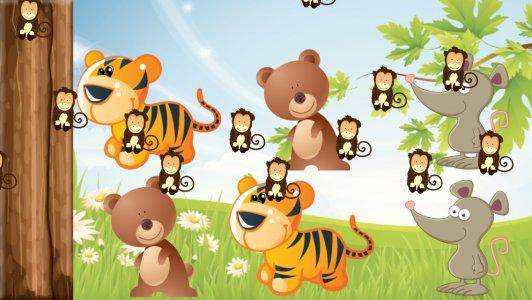 สวนสัตว์เด็กเกมหน่วยความจำ
