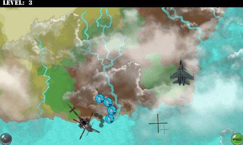 Kampfflugzeuge Spiel