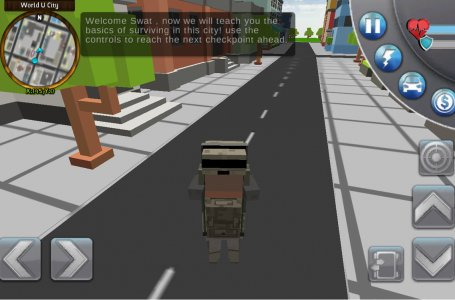 Blocky Police San Andreas City