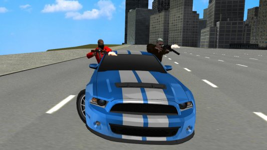 City Crime Gangster Driving 3D