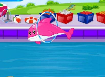 ปลาโลมาเกมการดูแลสำหรับเด็ก