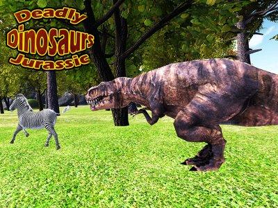 Deadly Dinosaur Jurassic T-Rex