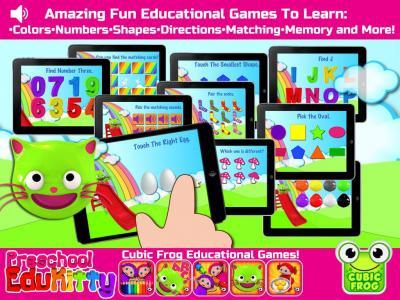 Toddler Educational Learning Games-EduKitty Kids