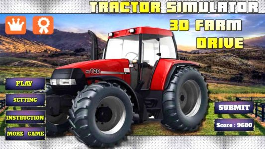 Tractor Harvester Simulator