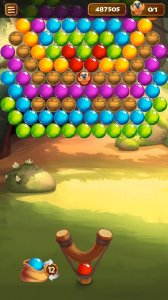 Forest Bubble Shooter Rescue