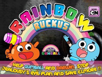 Gumball Rainbow Ruckus Lite