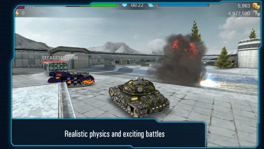 Iron Tanks: 3D Online Battle