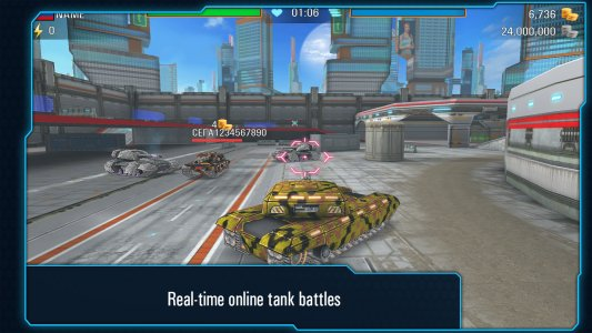 Iron Tanks: Free Multiplayer Tank Shooting Games