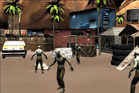 Shooting Sniper Zombies Game