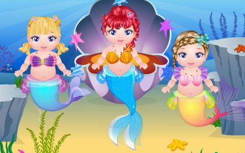 Mermaid Baby Birth