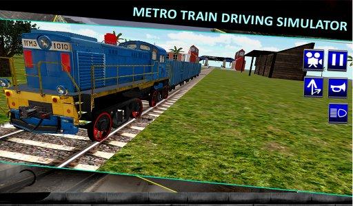 Metro Train Driving Simulator