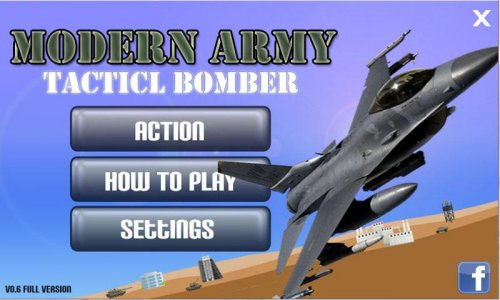 Modern Army Tactical Bomber
