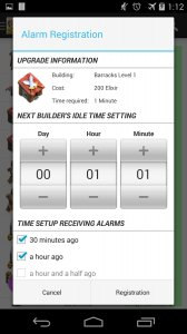 Planner for Clash of Clans