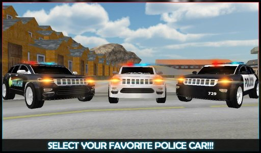 Police Car Chase Street Racers