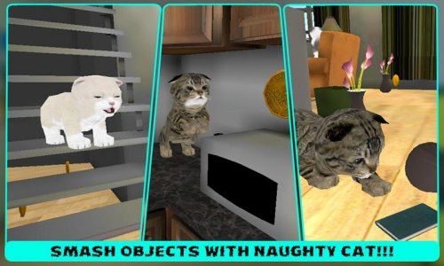 Real Pet Cat 3D simulator