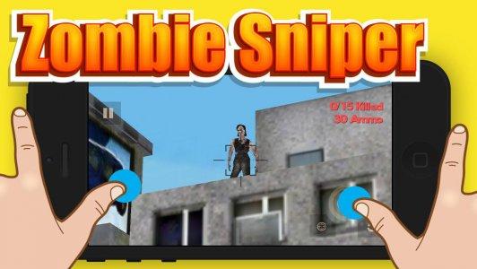 Zombie Sniper Shooter 3D