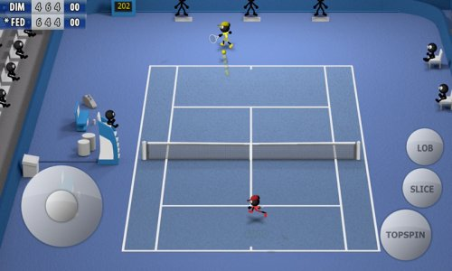 Stickman Tennis - Carrer