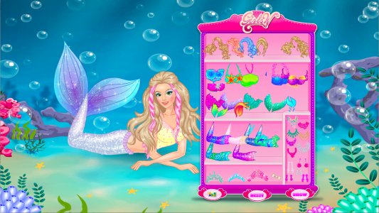 Mermaid Princess Dress Up