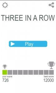 Three In A Row