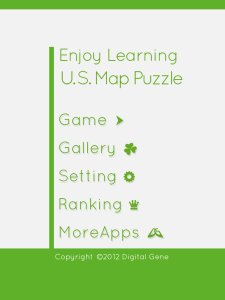 Enjoy Learning U.S. Map Puzzle
