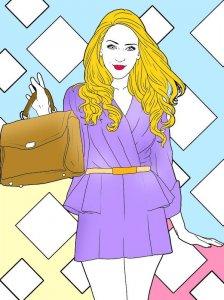 Violetta Coloring