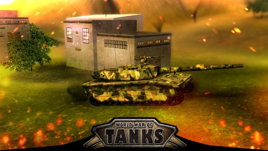World War of Tanks 3D : WWII