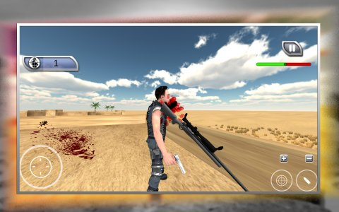 Commando Alpha Sniper Shooting : FPS Game