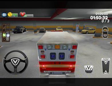 Ambulance parking 3D Part 3