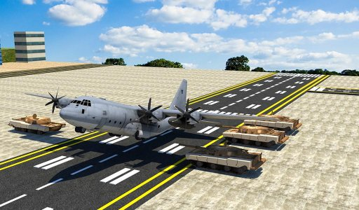Army Cargo Plane – Tanks