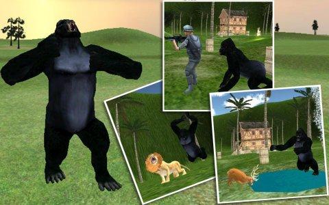 Crazy Ape Wild Attack 3D