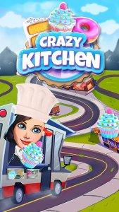 Crazy Kitchen: Match 3 Puzzles