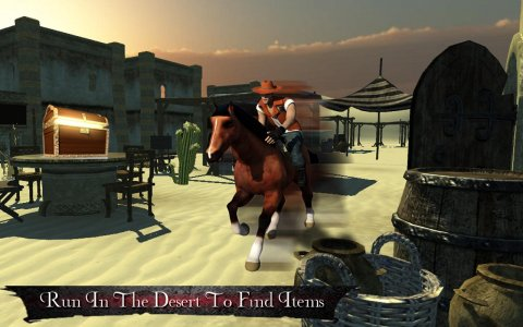 Horse Rider - Treasure Hunt