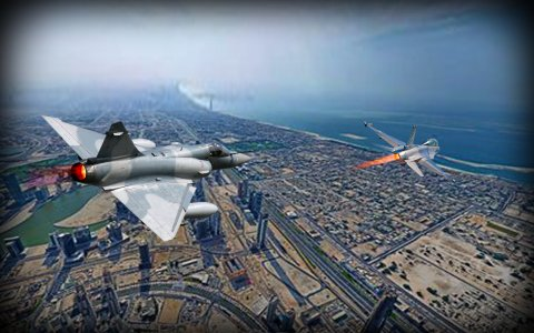 Fighter Jet Air Strike Mission 3D