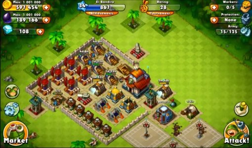 Jungle Heat: War of Clans