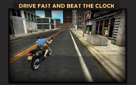 Moto Rider 3D: City Mission