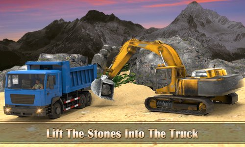 Mountain Drill Truck Driver