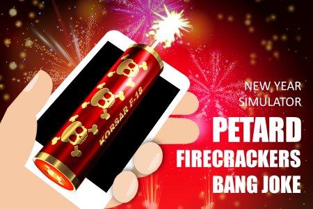 Petard firecrackers bang joke