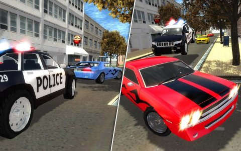 Police Car Driver Chase 3D