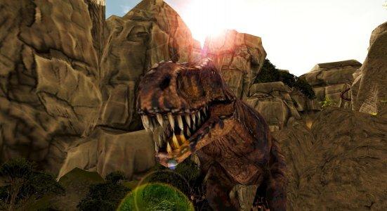 Real Dinosaur RollerCoaster VR