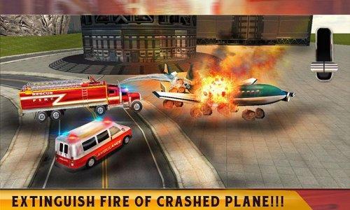 Rescue Services Crime City 3D
