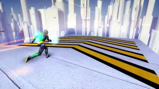 RunBot - Rush Runner Robot: Parkour & Running Game